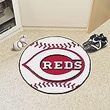 Baseball Floor Mat - Cincinnati Reds