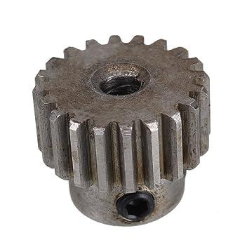 Modul 1 Motor Metall Stahl Zahnrad  30 Zähne 6mm Lochdurchmesser 2 Stück
