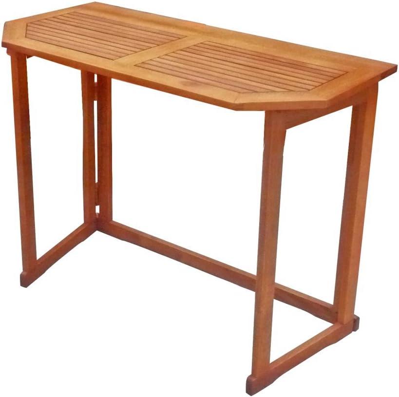 Amazon De Garden Pleasure Balkontisch Santa Fe Eukalyptus Holz Balkon Garten Tisch