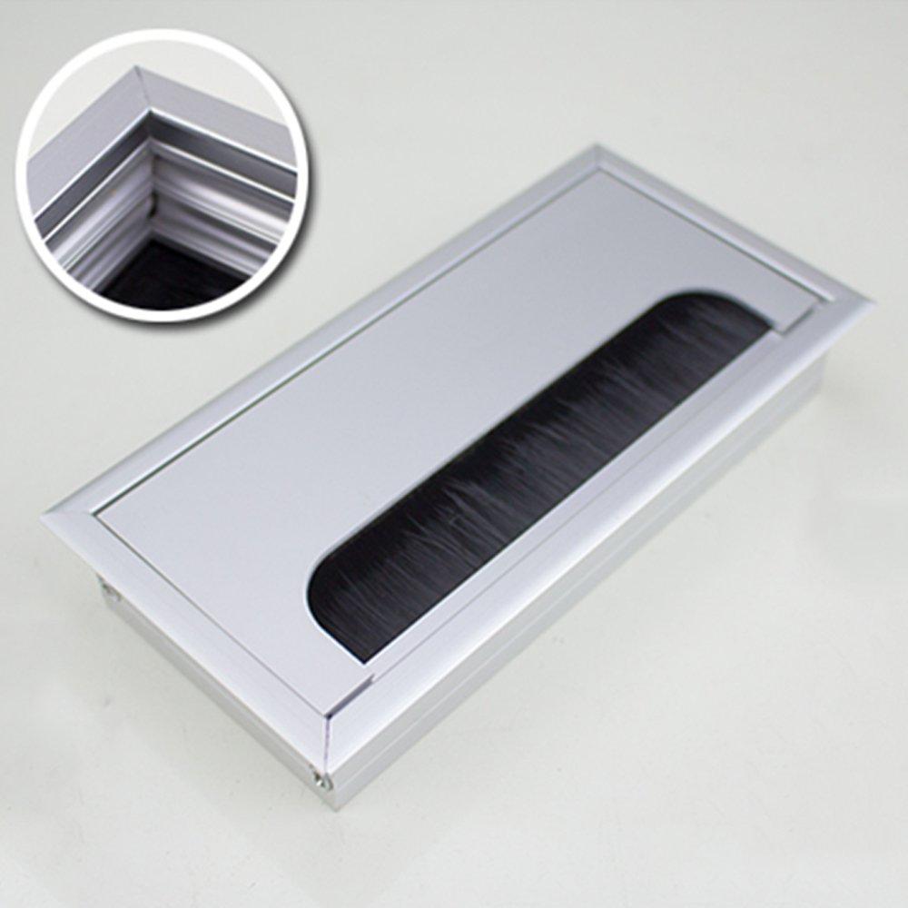 Kcopo Kabeldurchlass Kabeldurchführung Metall Computer Tisch Ösen ...