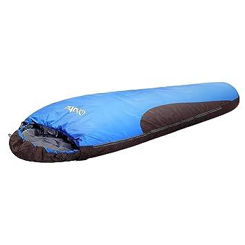 Ohuhu - Saco de Dormir Tipo Momia de 84 x 221 cm, 0 Grados,