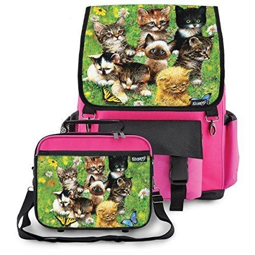 Kidaroo Little Kittens Backpack Lunchbox