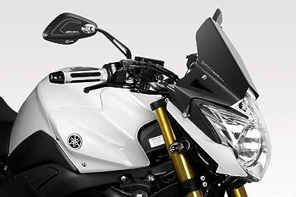 FZ8 Fazer 800 2010/15 - Kit Carenabris Warrior (R-0680) - Parabrisas Lunas Cúpula de Aluminio - Tornillería Incluido - Accesorios De Pretto Moto (DPM Race) - 100% Made in Italy: Amazon.es: Coche y moto
