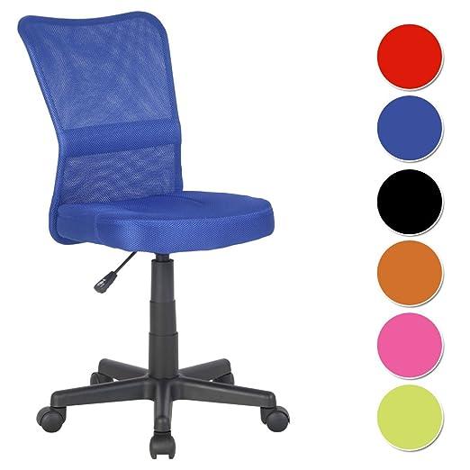 244 opinioni per SixBros. Sedia ufficio sedia girevole blu- H-298F/2065