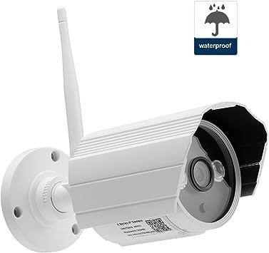 NEXGADGET IP Cámara de Seguridad Exterior Impermeable IP66 ...