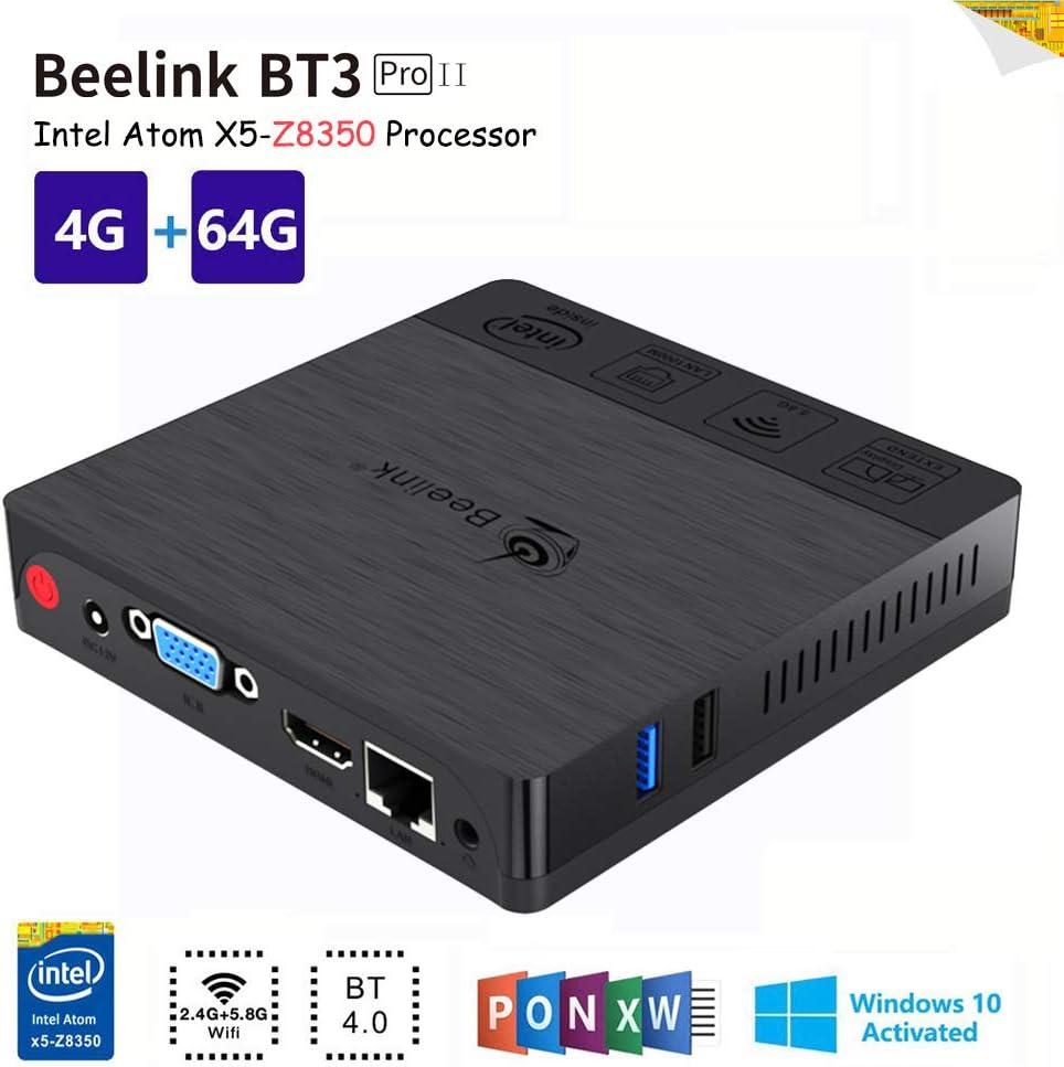 Beelink BT3PRO II Mini PC, Mini Ordenador de Sobremesa Mini ...