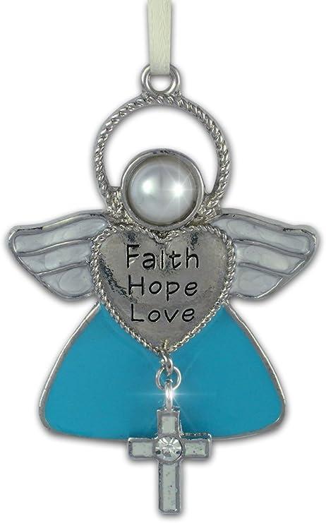 faith hope love   Christmas ornament 2020