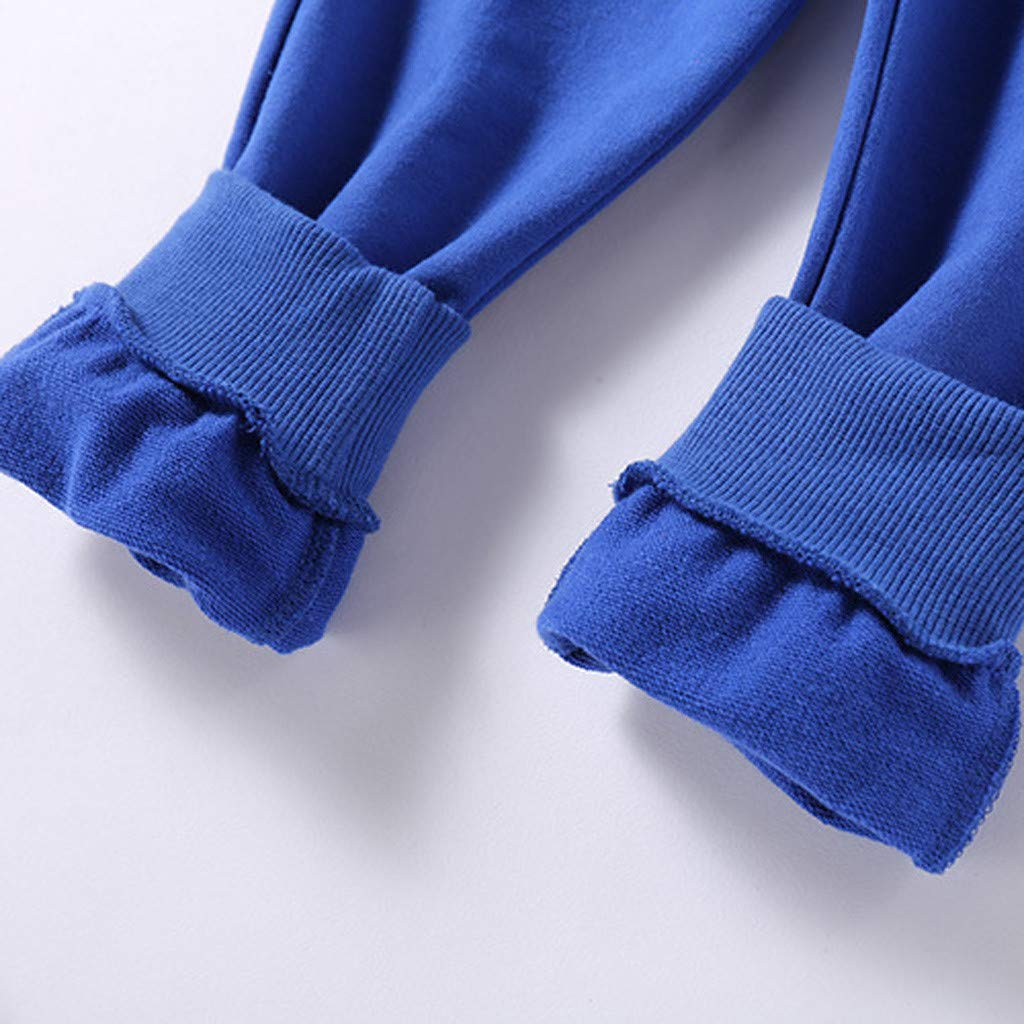 Goldweather Baby Toddler Boys Girls Pull-on Jogger Pants Elastic Waist Winter Casual Sweatpants