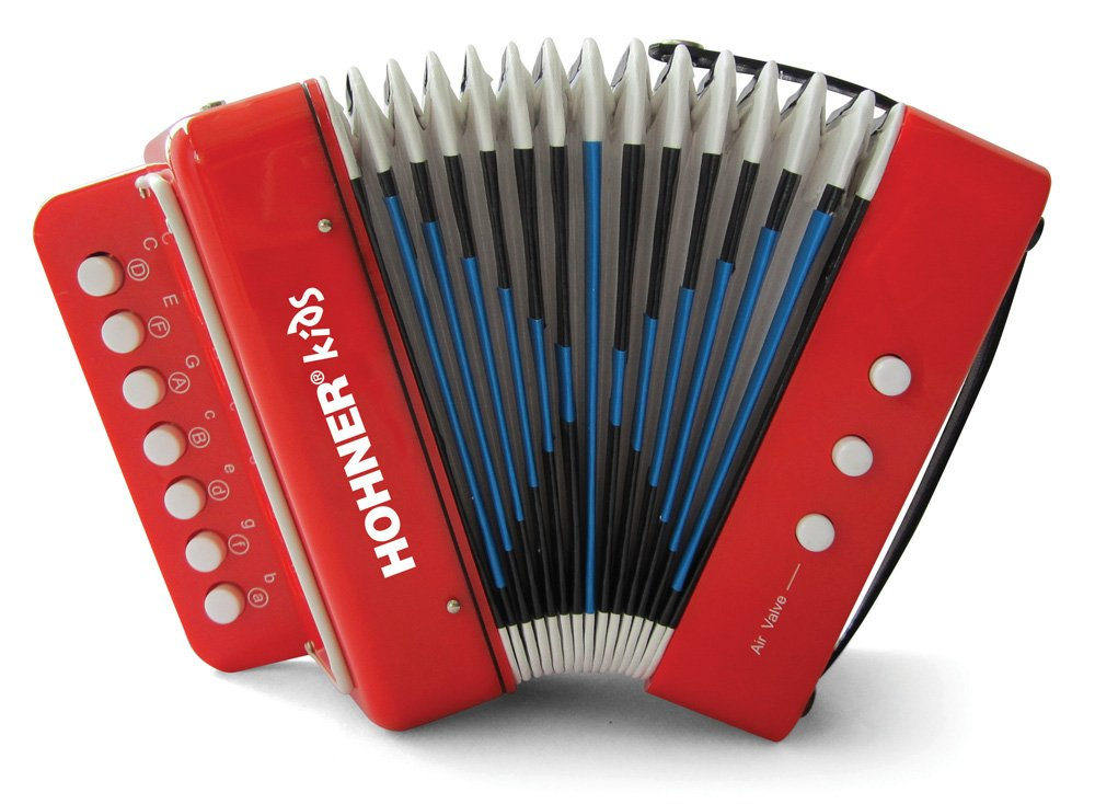 Hohner Kids UC102R Musical Toy Accordion Effect by Hohner Accordions