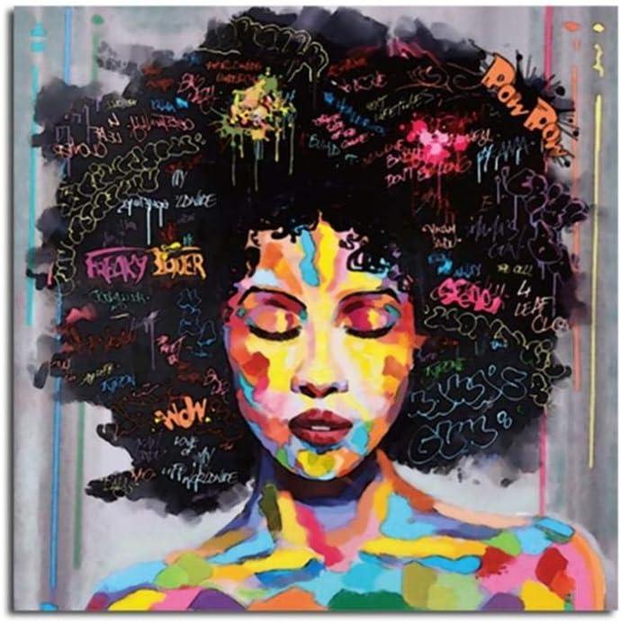 Diy Pintura Regalo - Cabeza De Explosión- Pintura Por Números Para Adultos Niños Pintar Por Numeros Kits Sobre Lienzo Diy Pintura Al Óleo Para Niños Principiantes 40X50Cm