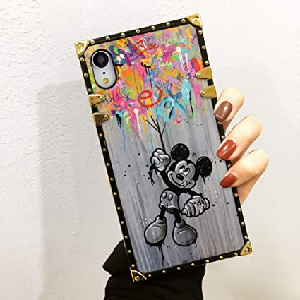 Amazon.com: DISNEY COLLECTION Funda de lujo para iPhone Xr ...
