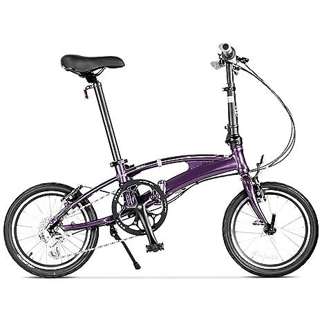 BANGL B Bicicleta Plegable Cambio de aleación de Aluminio ...