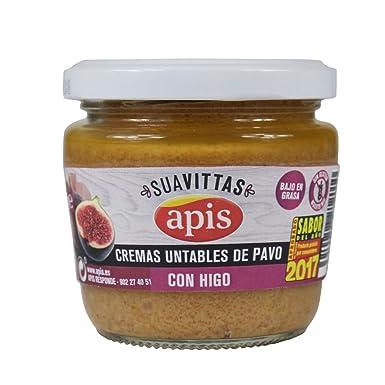 Apis Crema de Pavo con Higo - Paquete de 8 x 160 gr - Total: