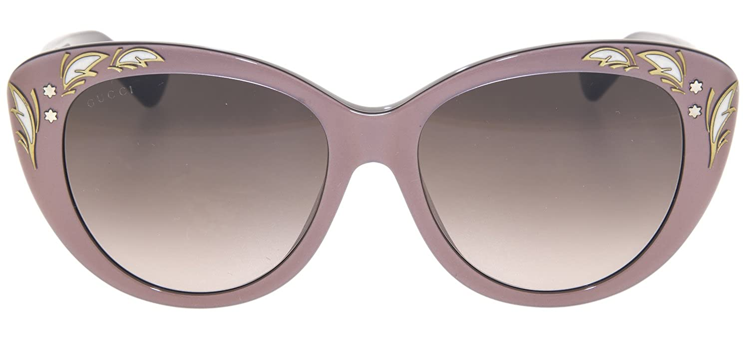 1e5f09d9e Amazon.com: GUCCI GG3828/F/S Purple Mink Black Mother Of Pearl Cat Eye  Sunglasses ASIAN FIT 3828: Clothing