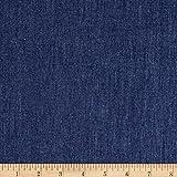 (US) TELIO 4.8 oz Denim Chambray Dark Blue Fabric By The Yard