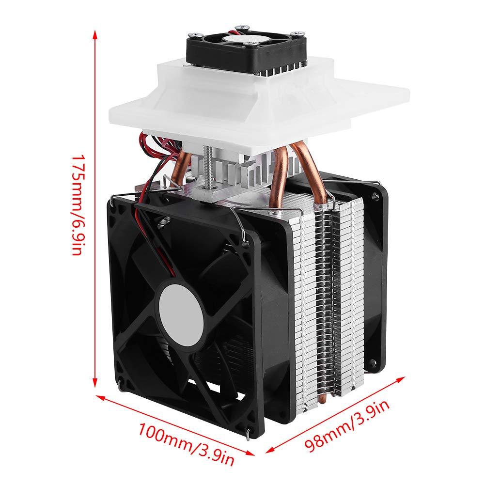 Refrigeraci/ón de semiconductores sistema de deshumidificaci/ón de refrigeraci/ón por aire Peltier termoel/éctrico de refrigeraci/ón de semiconductores de 12V