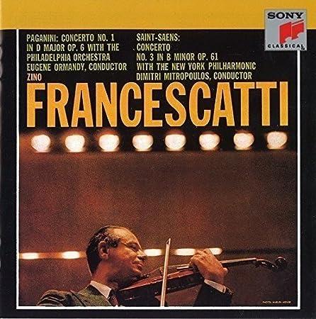 Paganini: Concerto 1 In D Major
