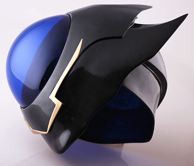 Amazon.com: Gmasking Code Geass Lelouch Zero Cosplay Helmet Mask Scale 1:1 Replica: Clothing