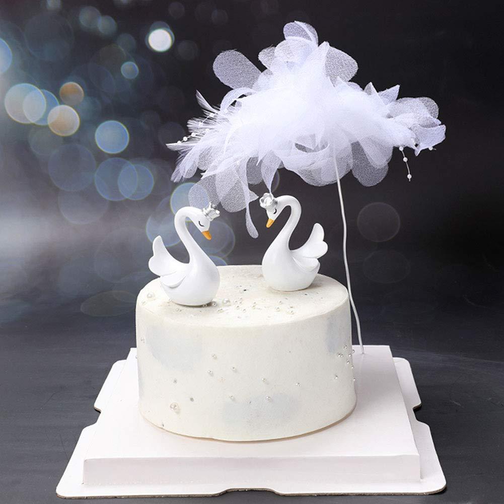 swan-aesthetics-cake-topping
