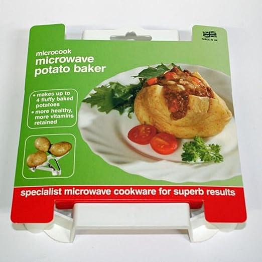 Asador de patatas para microondas Microcook: Amazon.es: Hogar