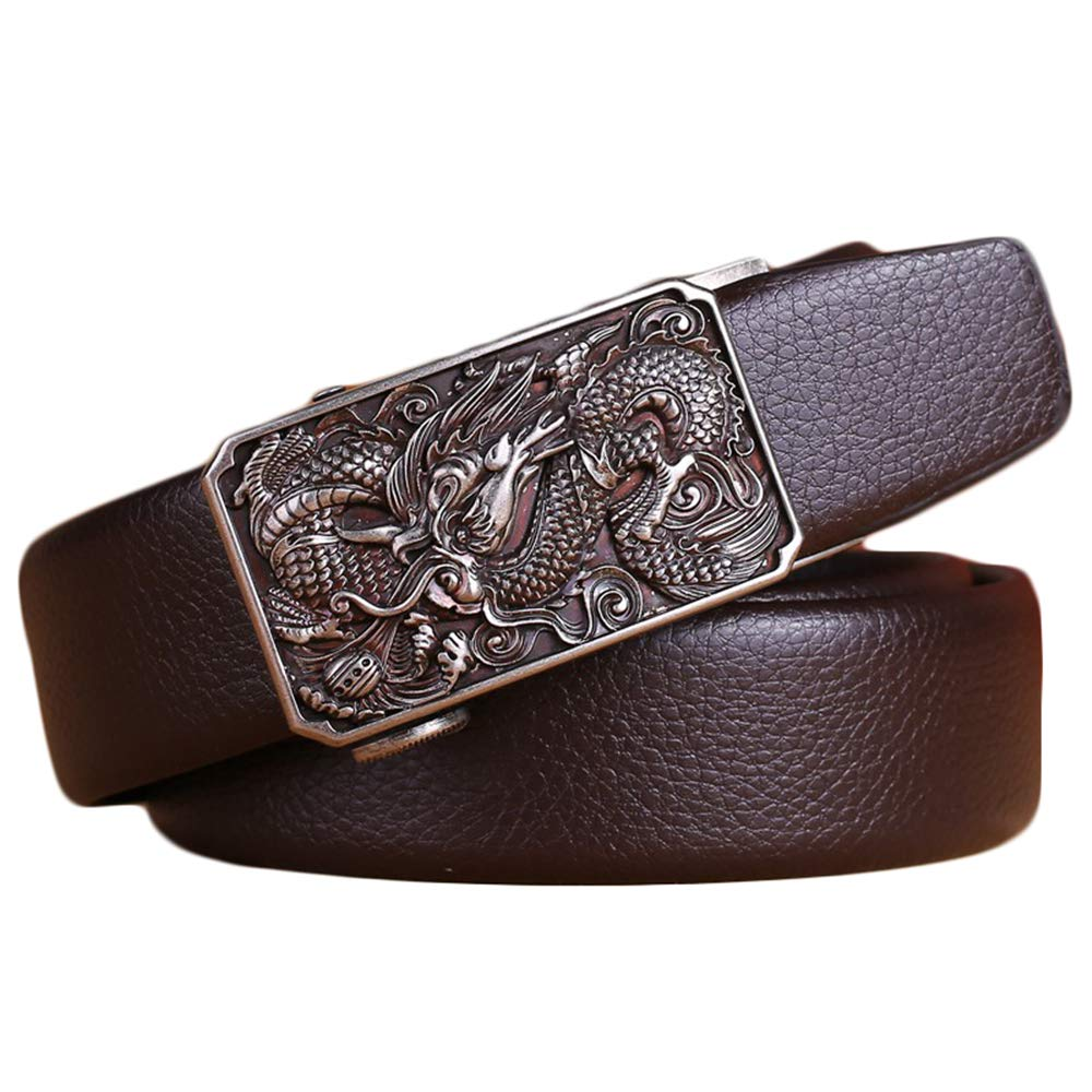 Emperor Style Dragon Buckle Belts for Men Unique in the world