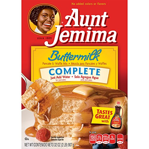 Aunt Jemima Buttermilk Complete Mix, 32 Oz, Pack of 1