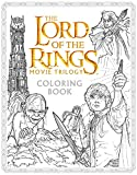 Book cover from The Lord of the Rings Movie Trilogy Coloring Book by Warner Brothers Studio