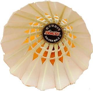 12 Packs Canard Blanc Volants de Badminton en Plume 74-78 Vitesse Blancho Bedding