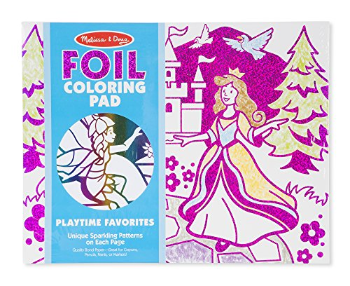Melissa & Doug Playtime Foil Coloring Pad