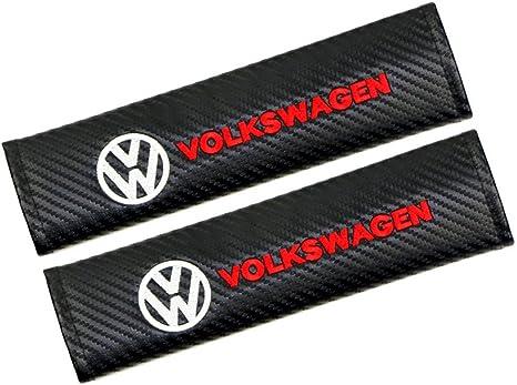 Trampa Transpirable de Fibra de Carbono para Adultos y ni/ños Almohadillas de Hombro para BNHHB 2 Piezas de Fundas para Cinturones de Seguridad para Volvo Xc40