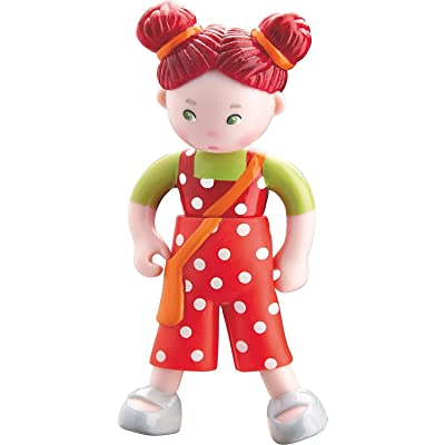 "HABA Little Friends Felicitas - 4"" Bendy Girl Doll Figure with Red Pigtails: Toys & Games"