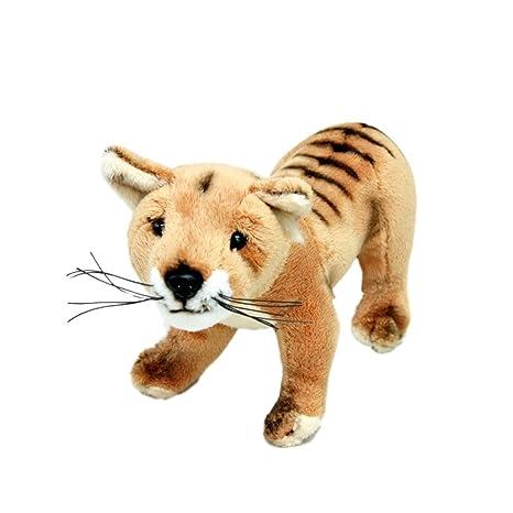 amazon com bocchetta plush toys tasmanian tiger thylacine soft