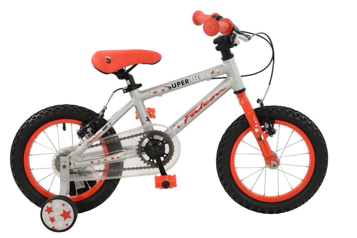 ファルコン少年Superliteバイクシルバー/レッドサイズ14サイズ14シルバー/レッド B01LWM6L8M