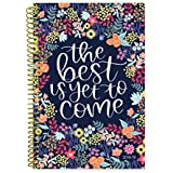 """Bloom Daily Planners 2018-2019 Academic Year Day Planner - Monthly/Weekly Calendar Book - Inspirational Dated Agenda Organizer - (August 2018 - July 2019) - 6"""" x 8.25"""" - The Best is Yet to Come"""