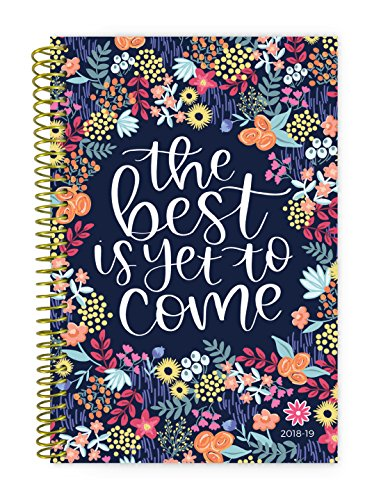 bloom daily planners 2018-19 Academic Year Daily Planner - Monthly/Weekly Calendar Book - Inspirational Dated Agenda Organizer - (August 2018 - July 2019) - 6
