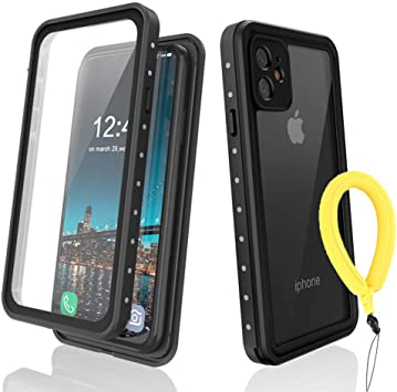 RLTech Funda para iPhone 11, IP68 Waterproof Outdoor Case 360 ...