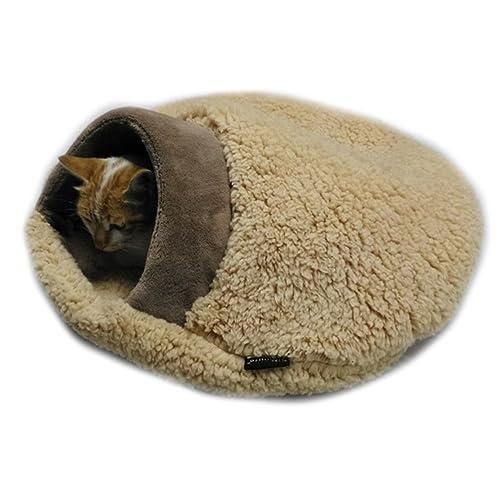 97598ddf52b8 Amazon.com  Soft And Warm Faux Fur Cat Sleeping Bag Sleeping Mat  Handmade