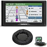 Garmin Drive 50LM GPS Navigator Lifetime Maps (US) 010-01532-0C Dashboard Mount Bundle includes GPS and Nav-Mat Portable GPS Dash Mount