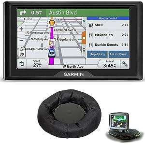 Garmin Drive 50LM GPS Navigator Lifetime Maps (US) 010-01532-0C Dashboard Mount Bundle Includes GPS and Universal GPS Navigation Dash-Mount