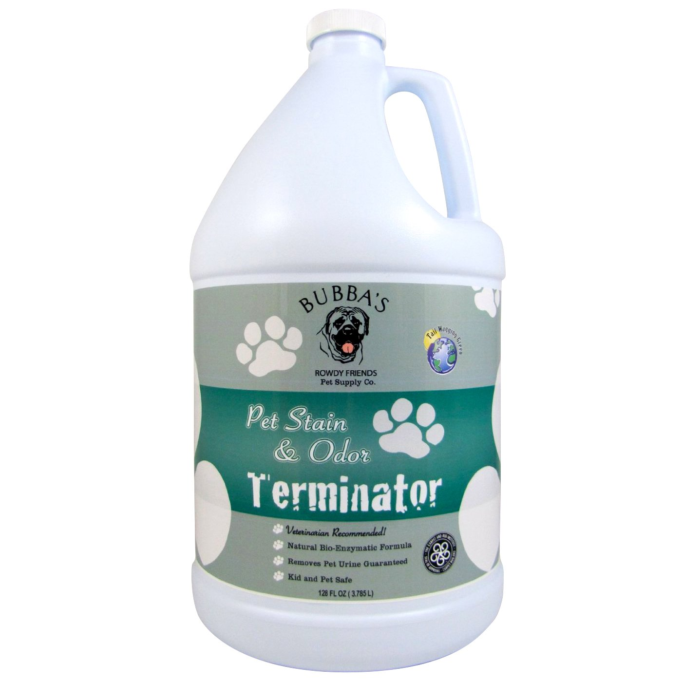 BUBBAS, Super Strength Commercial Enzyme Cleaner-Pet Odor Eliminator