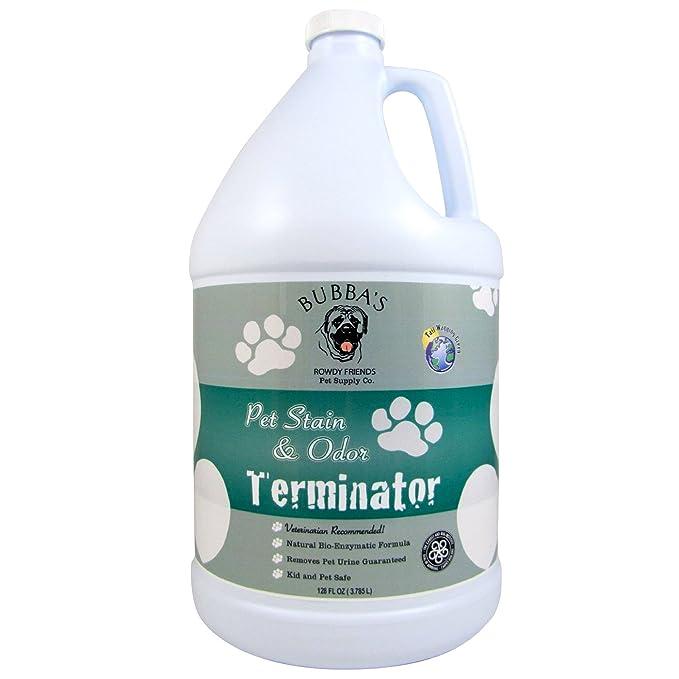 BUBBAS - Líquido para eliminar olores de mascotas, enzimas, superfuerte, 3,8 L, elimina manchas y olores de alfombras, moquetas o suelos duros: Amazon.es: ...