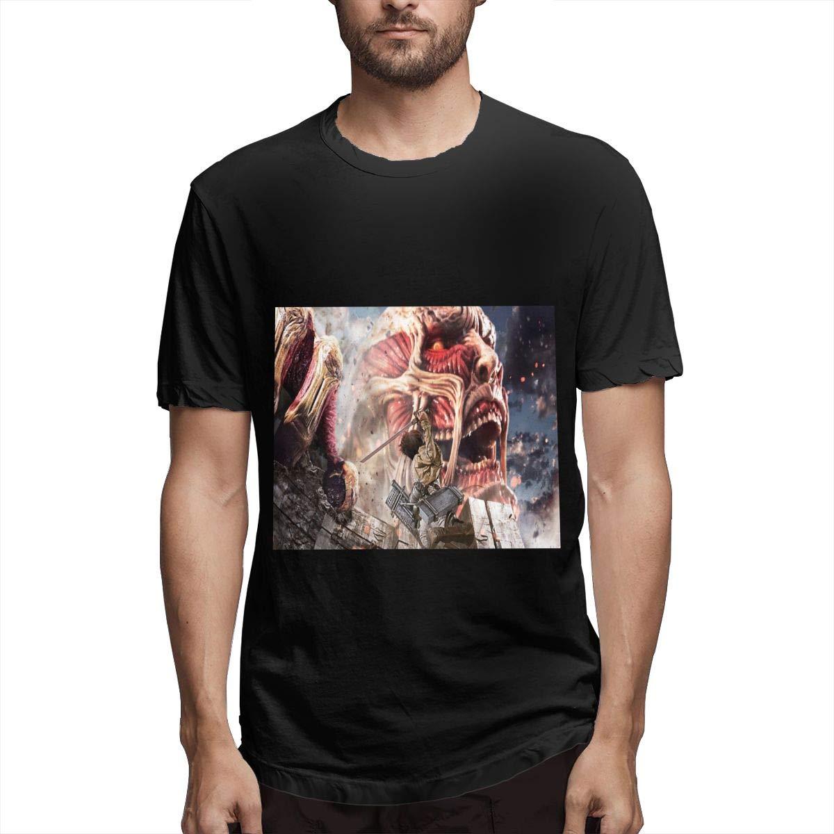 Lihehen S Attack On Titan Fashion Leisure Round Neck T Shirt