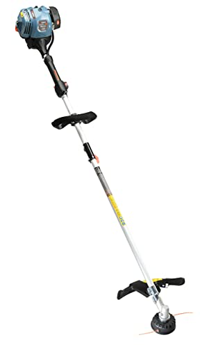 SENIX GTS4QL-L 26.5cc String Trimmer with Straight Shaft and Bump Head, Blue