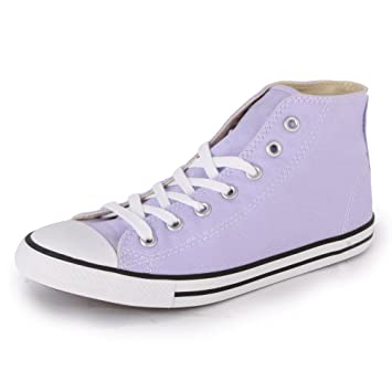 Converse Chuck Taylor Dainty Mid Womens Canvas Laced Mid Trainers