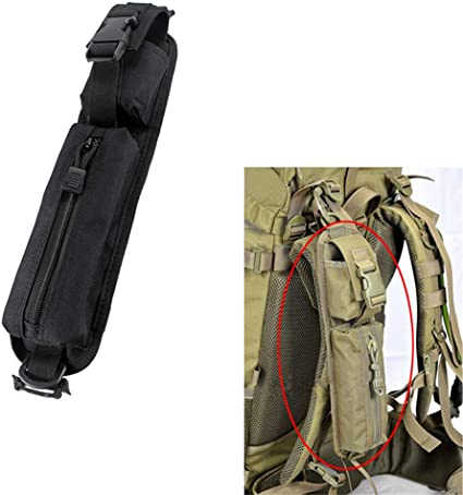 Tactical Molle Belt Accessory Tools Pouch Shoulder Strap Bag for Backpack