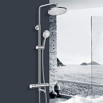 Columna de ducha termostatica conjunto de ducha termostatico acero ...