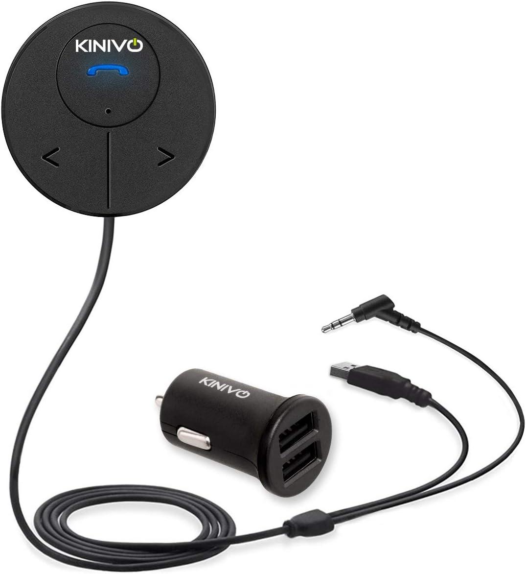 Kinivo Btc480 Bluetooth Hands Free Car Receiver With Elektronik