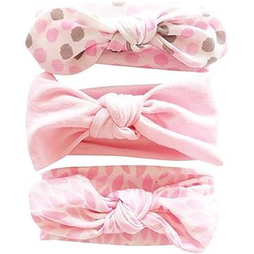 Cute Baby Kids Headband Dot Pattern Ribbon Bowknot Hair Band Accessory Sanwood