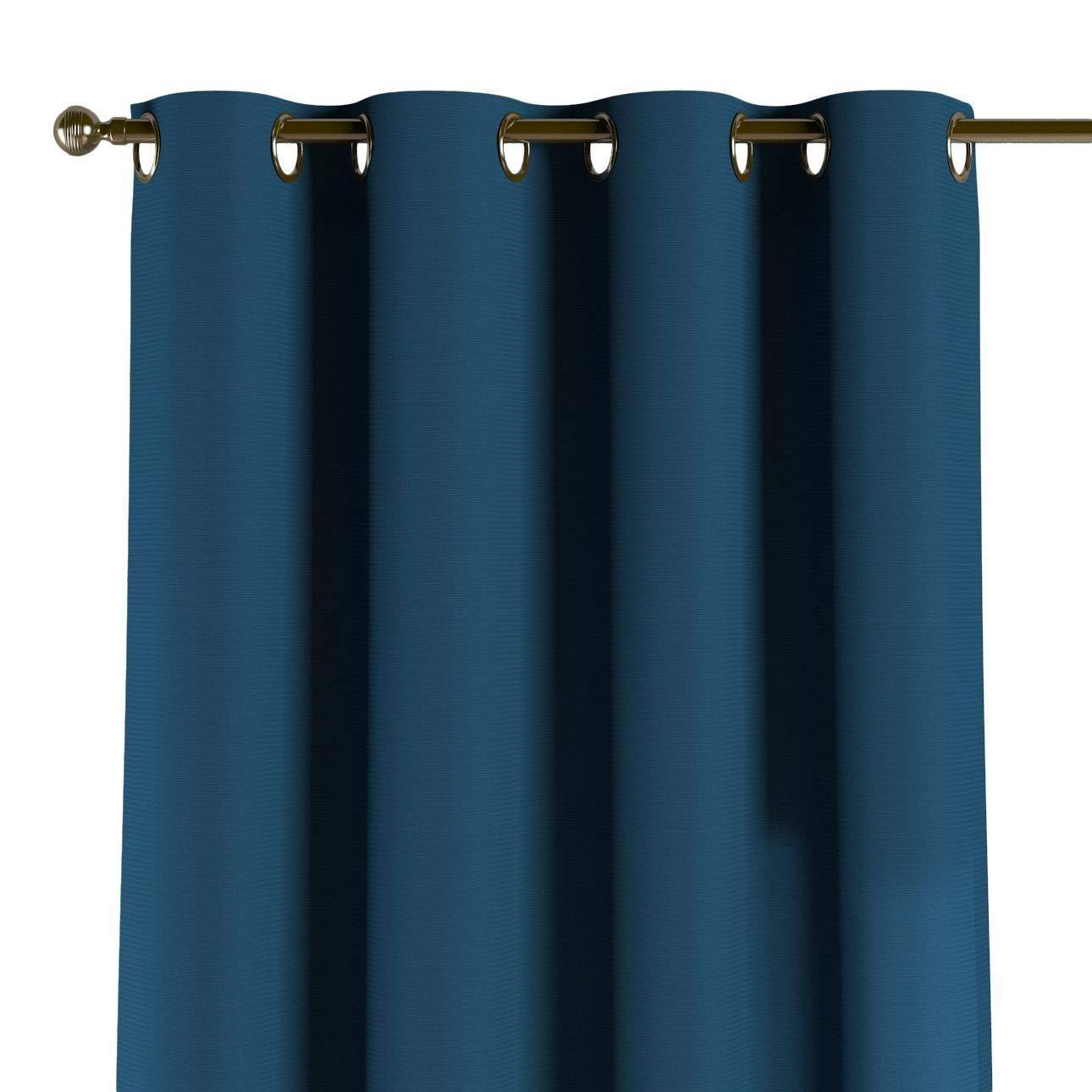 Dekoria Ösenschal Dekoschal Blickdicht 1 Stck. 130 × 260 cm marinenblau Maßanfertigung möglich