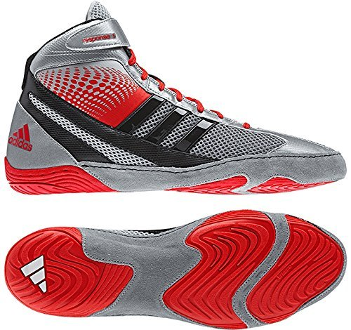 Adidas 5 1 Galleon Silverredblack Response 6 3 Shoes Wrestling wqz8fdH